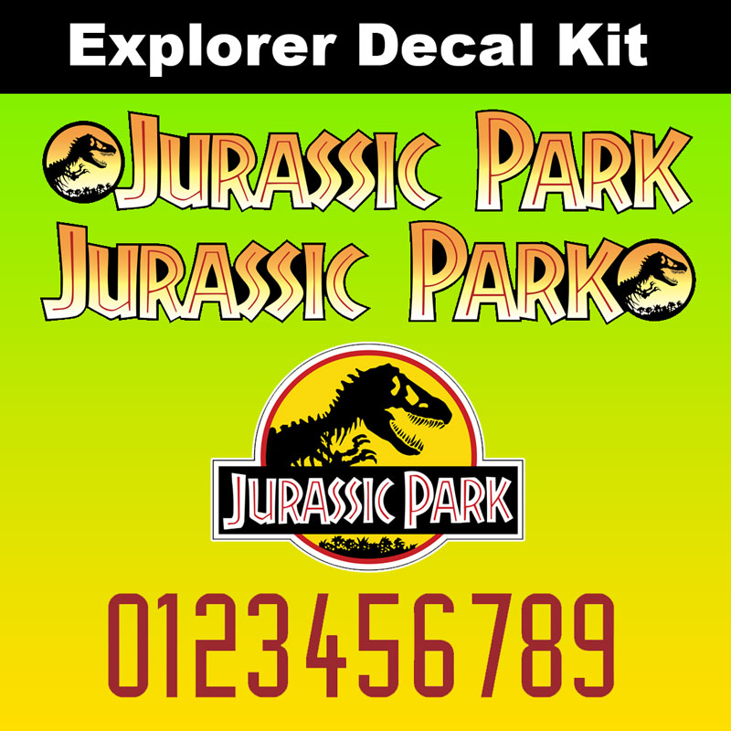Jurassic Park Sticker//Decal